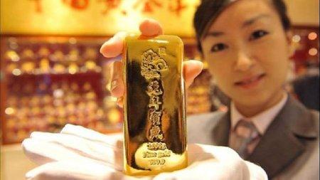 Китай запустил собственный золотой эталон в юанях.