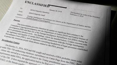 В США обнародовали служебную записку о нарушениях ФБР и Минюста