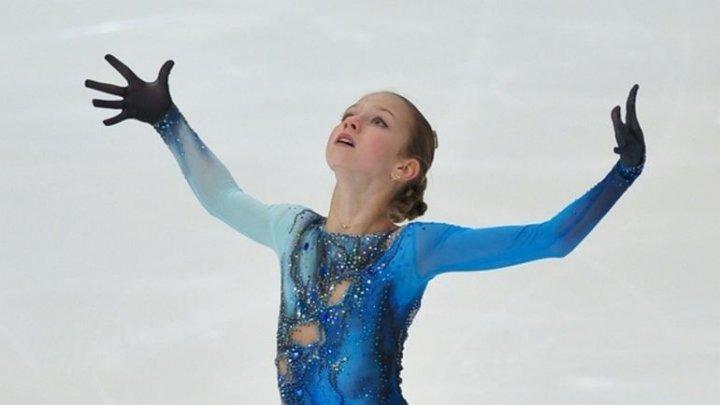 13-летняя спортсменка стала первой, кому удались два четверных прыжка во время выступления
