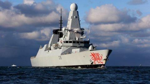 ВМФ Великобитании. Эсминцы проекта 45