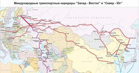 Транспортный коридор «Север — Юг» - иранский вопрос