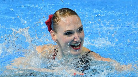 Синхронистка Светлана Ромашина стала 20-кратной чемпионкой мира