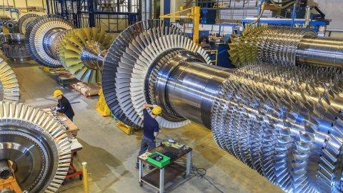 В России успешно испытали газовую турбину большой мощности