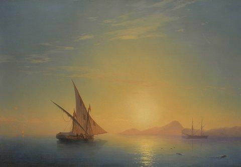 Картина Айвазовского продана на Christie's за $635,000