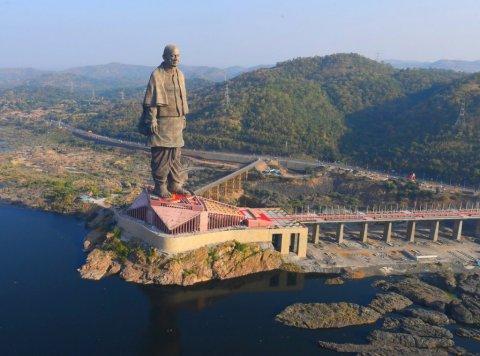 Самая высокая в мире статуя Валлаббхаи Патель