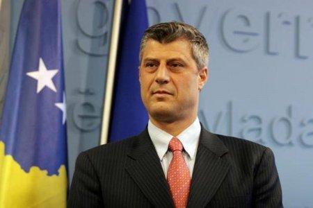 Глава Косово отказался уйти в отставку после обвинений в военных преступлениях