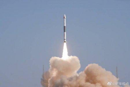 """Первый запуск новой китайской ракеты-носителя """"Куайчжоу-11"""" был неудачным"""