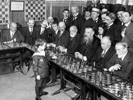 5-летний шахматист, который обыгрывал гроссмейстеров