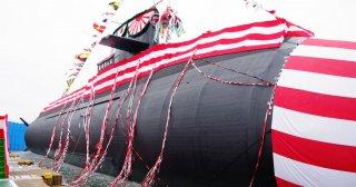 Подводная лодка нового поколения спущена на воду в Японии.