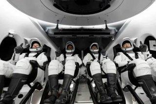 Crew Dragon впервые доставил на МКС экипаж из 4 астронавтов