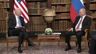 Саммит лидеров России и США в Женеве 16 июня 2021 года