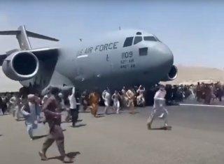 Кошмар в аэропорту Кабула (США уходят из Афганистана)